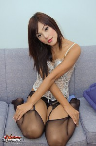 cute innocent looking asian ladyboy